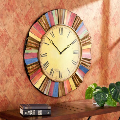 The Curated Nomad Belli Decorative Wall Clock
