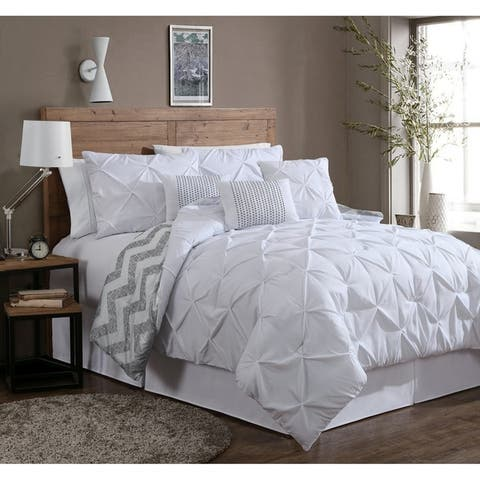 White Comforter Sets | Find Great Bedding Deals Shopping at Overstock