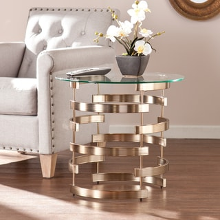 Link to Silver Orchid Grant Side/ End Table Similar Items in Living Room Furniture