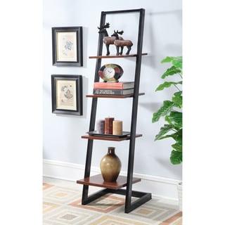Porch & Den Galvez 4-tier Ladder Bookshelf