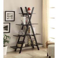 Copper Grove Cranesbill A-frame Bookshelf Deals