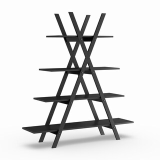 The Gray Barn Pitchfork A-frame Bookshelf