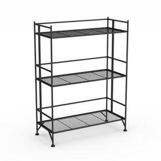 Porch & Den Bywater Ferdinand 3-tier Wide Folding Shelf