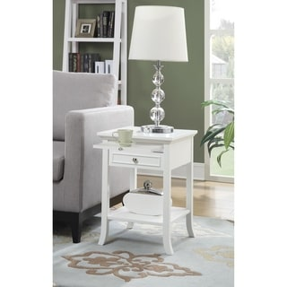 Link to Copper Grove Aubrieta Single-drawer End Table Similar Items in Living Room Furniture