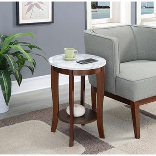 Fabulous Buy Blue Round Coffee Console Sofa End Tables Online At Gmtry Best Dining Table And Chair Ideas Images Gmtryco