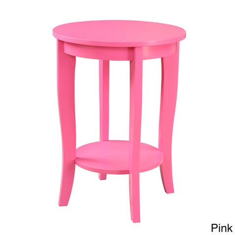 Pink Round Table.Buy Pink Round Coffee Console Sofa End Tables Online At
