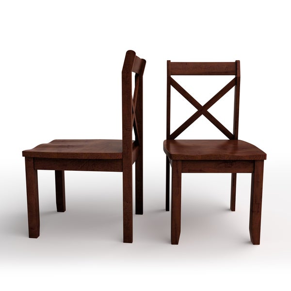The Gray Barn Pitchfork Dining Chairs (Set of 2)
