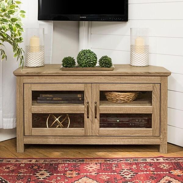 furniture leick oak cabinet glass finish burned stand hei with leaded hutch corner p fmt wid a tv