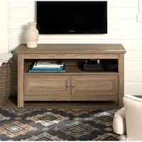 "Pine Canopy Lassen 44"" TV Stand Console - Driftwood - 44 x 16 x 23h"
