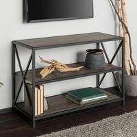 Carbon Loft Hattie X-frame Media Bookshelf