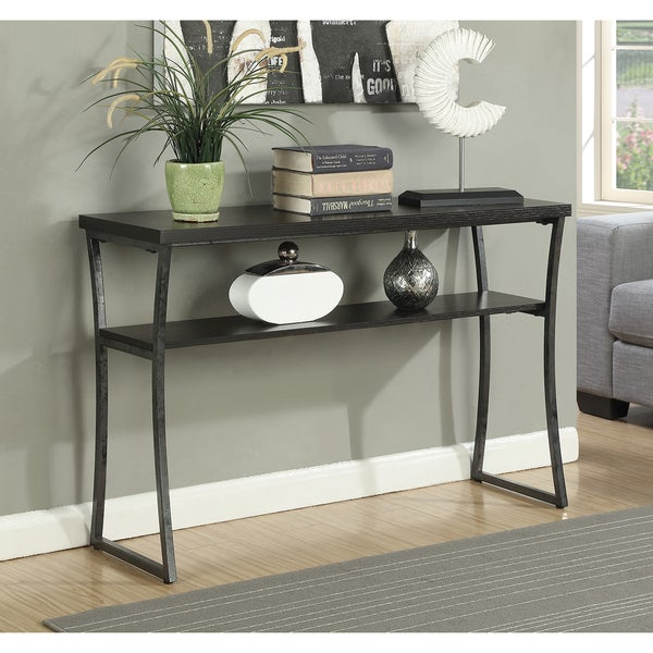 Porch & Den Dominica Metal Console Table. Opens flyout.