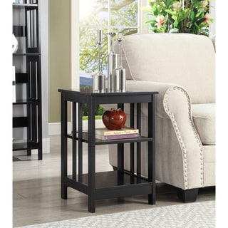 Porch & Den Miro Mission Wood End Table