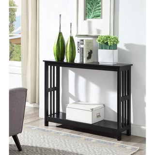 Link to Porch & Den Miro Mission Console Table Similar Items in Living Room Furniture