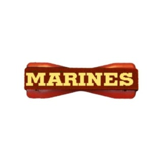 US Marines on Red Smartphone Grip