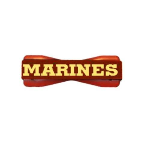 US Marines on Red Smartphone Grip