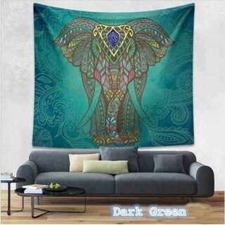 Boho Style Home Living Tapestry Multi Functional Hanging Blanket150*210cm (Option: Grey)