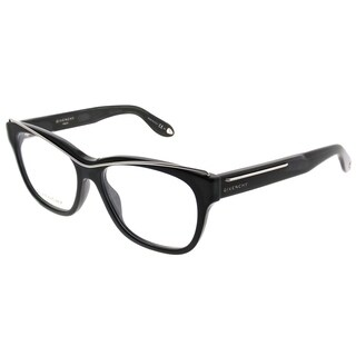 Givenchy Rectangle GV 0027 807 Unisex Black Frame Eyeglasses