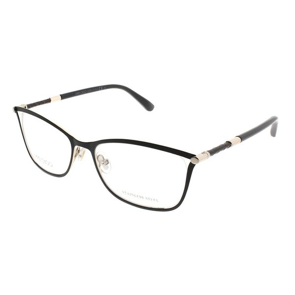 020b3ff95c89 Jimmy Choo Rectangle JC 134 J6H Women Matte Black Frame Eyeglasses