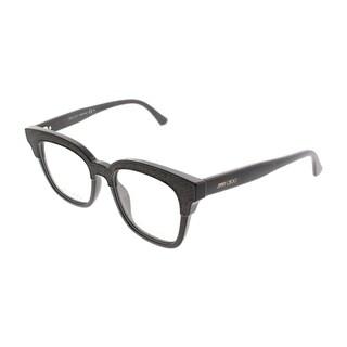 Jimmy Choo Square JC 176 19K Women Brown Glitter Frame Eyeglasses