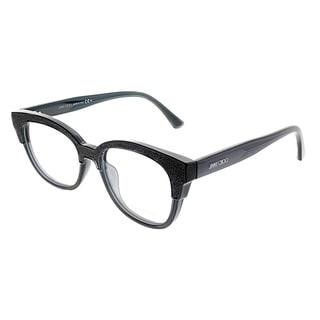 Link to Jimmy Choo Cat-Eye JC 177 18R Women Dark Grey Glitter Frame Eyeglasses Similar Items in Women's Sunglasses