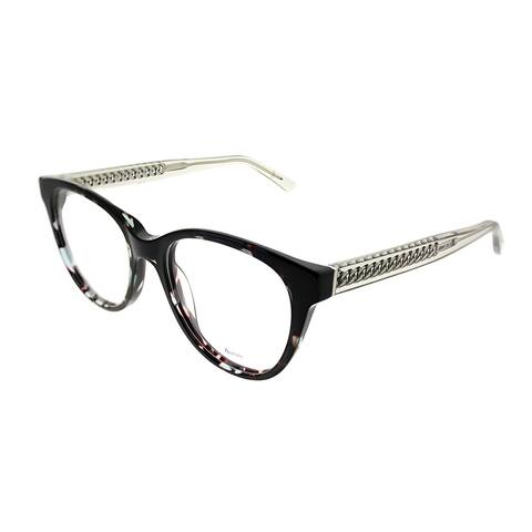Jimmy Choo Cat-Eye JC 194 676 Women Green Havana Grey Frame Eyeglasses