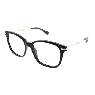 Jimmy Choo Square JC 195 807 Women Black Frame Eyeglasses