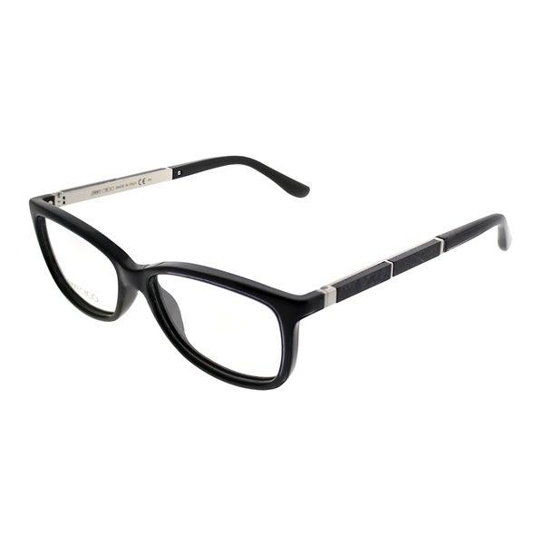 1e69f1181b Shop Jimmy Choo Rectangle JC 190 807 Women Black Frame Eyeglasses ...