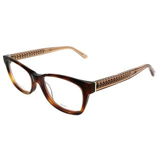 f10bbb2aca8 Jimmy Choo Rectangle JC 193 XLT Women Havana Beige Frame Eyeglasses