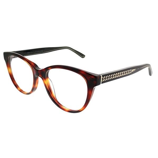 8372c326fa Jimmy Choo Cat-Eye JC 194 581 Women Havana Black Frame Eyeglasses