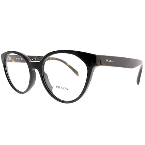 e6a064603384 Prada Cat-Eye PR 01TVF 1AB1O1 Women Black Frame Eyeglasses
