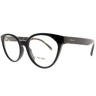 Prada Cat-Eye PR 01TVF 1AB1O1 Women Black Frame Eyeglasses