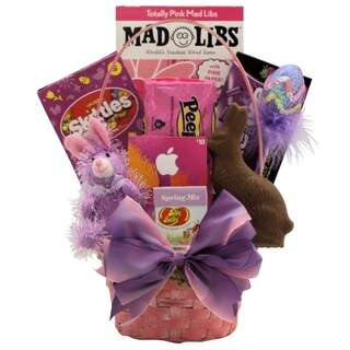 Totally Girlie Easter Gift Basket for Tween Girls Ages 10 to 13 Years Old
