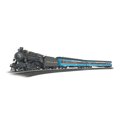 Bachmann Trains NORTH POLE EXPRESS Ready to Run Electric Train Set - HO Scale