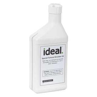 Special High-Cling Lubrication Oil for ideal. Shredders, 4 Bottles, 1 Pint