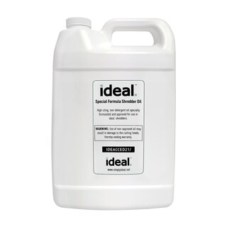 Special High-Cling Lubrication Oil for ideal. Shredders, 4 Bottles, 1 Gallon