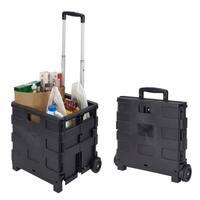 Portable Folding Shopping Cart 60lbs Capacity
