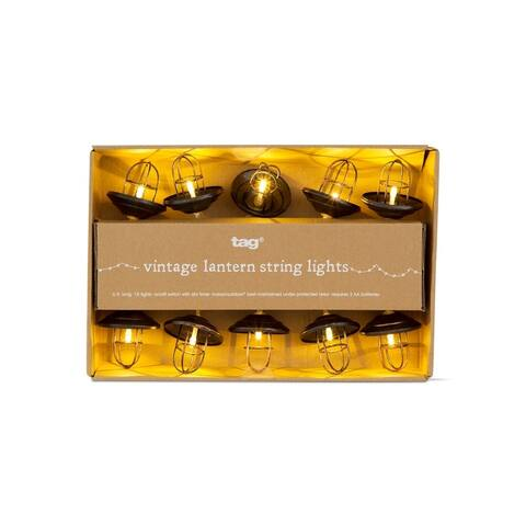 TAG Vintage Lantern Led String Lights
