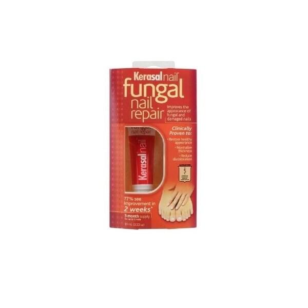 Kerasal Nail Fungal 0.33-ounce Nail Repair 3 Month Supply - Free ...
