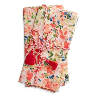 TAG Petals Napkin Set Of 4 - N/A