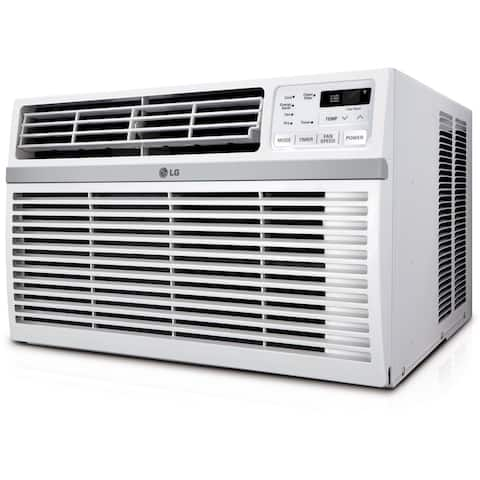 LG High Efficiency 8,000 BTU Window Air Conditioner with Remote Control - White