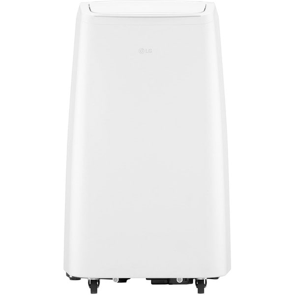 115V Portable Air Conditioner with Remote Control in White for Rooms up to 200-Sq. Ft.