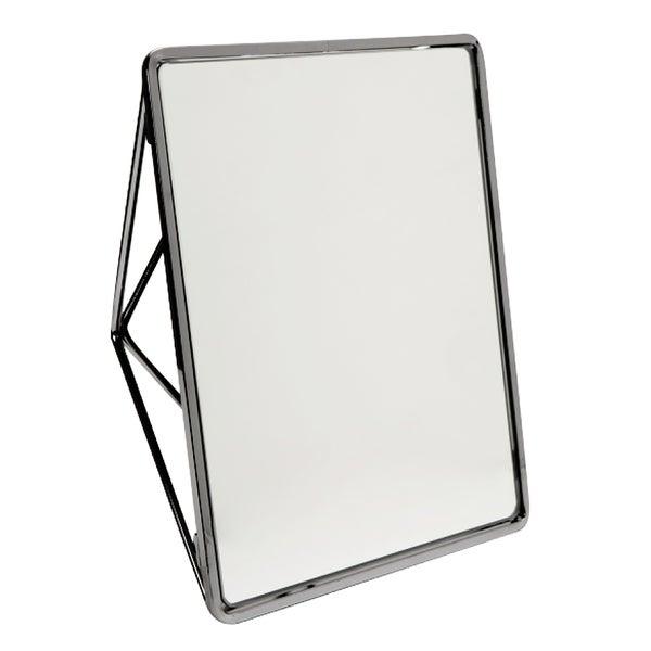 """Geometric Two Way Vanity Mirror-9.37 x 7.4 x2.95"""" - ONYX"""