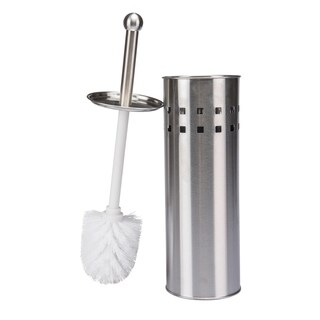 Stainless Steel Toilet Brush with Air Vents