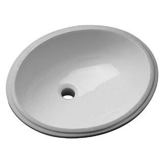 Zurn Z5220 Undermount Vitreous China Bathroom Sink Z5220