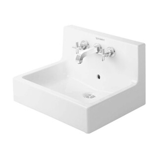 Duravit Vero Wall Mount Bathroom Sink 0453600000 White