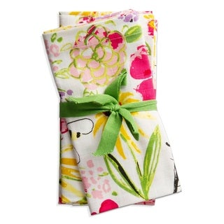 TAG Fresh Flowers Garden Napkin Set Of 4 - N/A