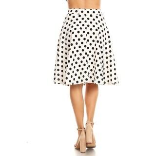 Women's Polka Dot Pattern Skirt