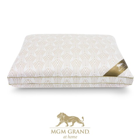 MGM Grand Hotel at Home Luxury Collection High-loft Memory Foam Pillow, reversible with cool gel memory foam and gel fiber