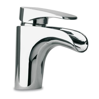 Handmade Waterfall Single Lever Handle Lavatory Faucet