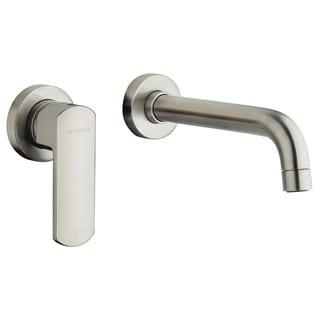 Handmade Single Handle Wall-Mount Lavatory Faucet